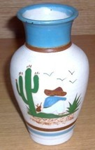 TONALA MEXICO NATIVE LATINO POTTERY VASE BY GARDIEL - $74.99