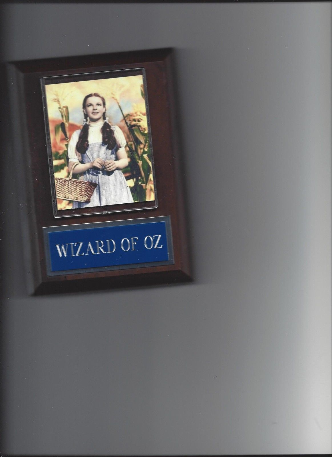 Primary image for WIZARD OF OZ PLAQUE MOVIE DOROTHY JUDY GARLAND