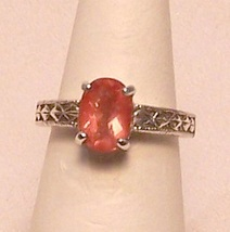 Oregon Sunstone Sterling Silver Ring 1.7 ct Sz ... - $315.00