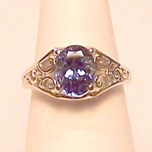 Genuine Tanzanite 14KW Gold Ring 2.65 ct Sz 6.5... - $1,100.00