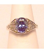 Genuine Tanzanite 14KW Gold Ring 2.65 ct Sz 6.5 MADE IN USA - $1,100.00