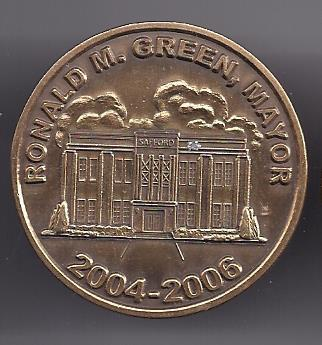 Primary image for Mayor Ronald M Green, Mayor 2004-2006 City of Safford Token