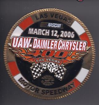 Primary image for UAW - DAIMLER CHRYSLER 400 Las Vegas Motor Speedway March 12, 2006