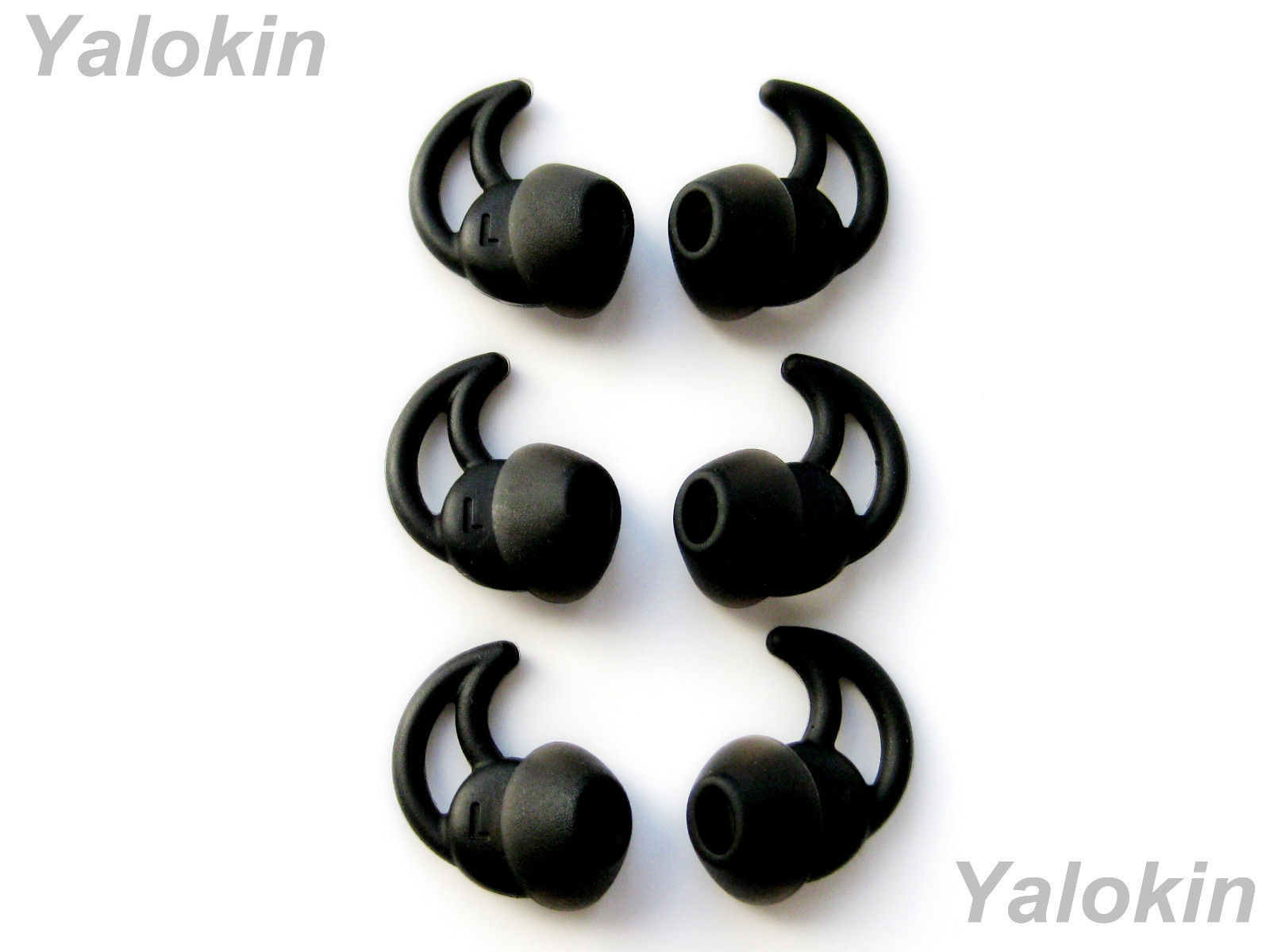 Primary image for 6 pcs: 3 Pairs Small (B) Noise Isolation Comfort Eartips buds for ie2 and ie2i