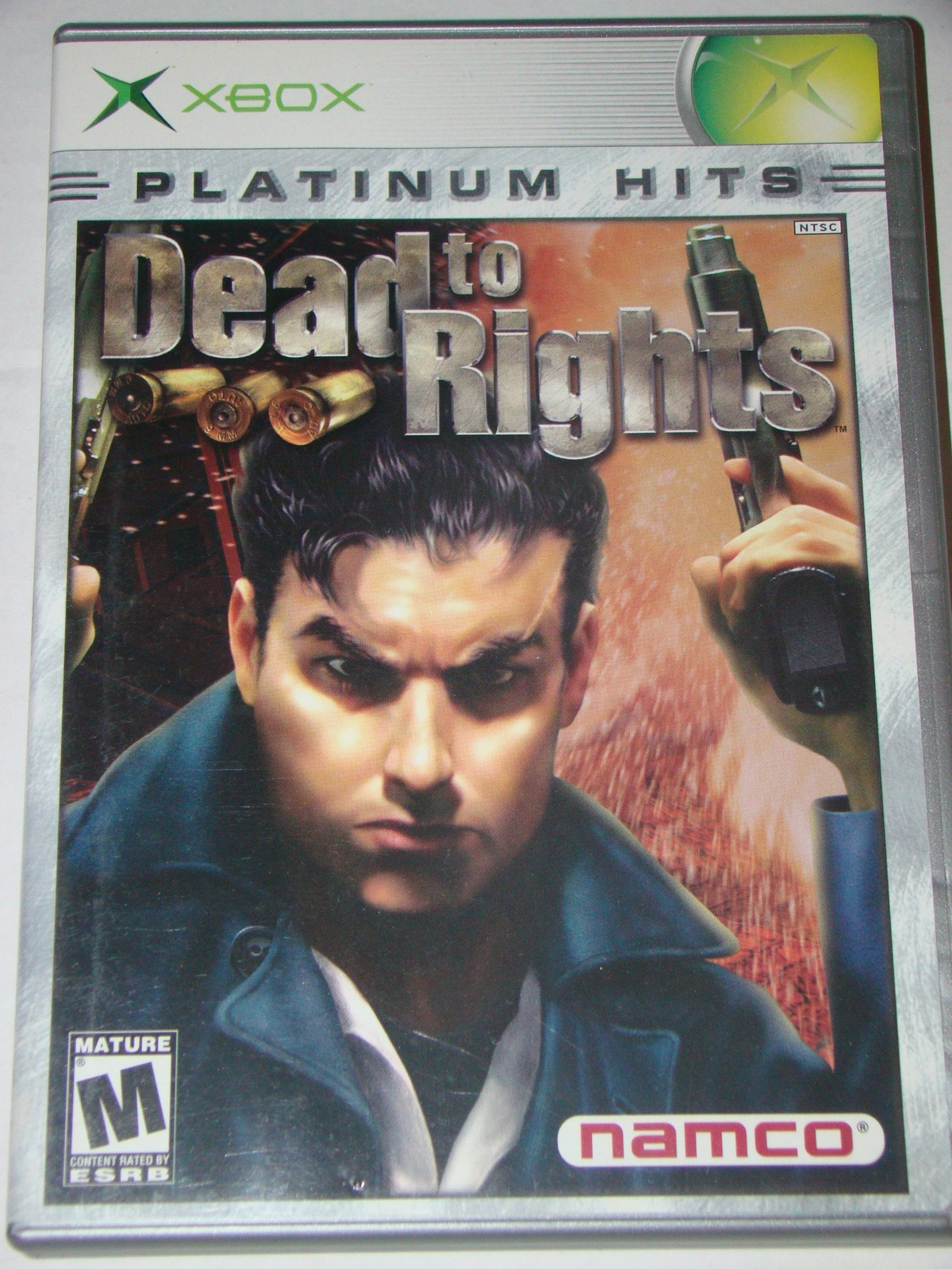 Primary image for XBOX - PLATINUM HITS - Dead to Rights (Complete with Instructions)