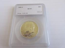 1969-D , Kennedy Half Dollar , UC - $18.00