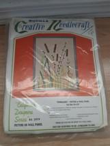 "Vintage Bucilla Creative Needlecraft Everglades Picture Wall Panel 2979 24"" x 36 - $14.80"