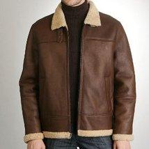Mens shearling jacket b000wzaq0m thumb200
