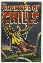 Golden Age CHAMBER OF CHILLS #17 pre-code horror - $60.78