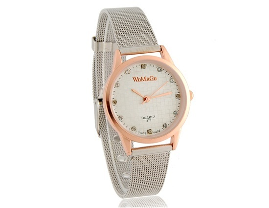 Primary image for WoMaGe 471 Water Resistance Stylish Analog Watch with Alloy Strap S (Gold)