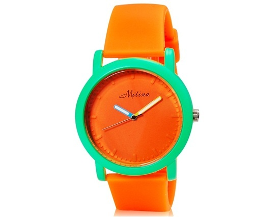Primary image for Mitina 137 Students' Analog Watch (Orange)