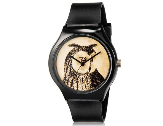 Primary image for Unisex's Owl Pattern Design Water Resistant Analog Wrist Watch
