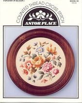 Victorian Tapestry Bouquet I~ Cross Stitch - $5.00