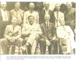 Baseball First Hall of Fame Induction 1939 Ruth 8X10 Sepia Memorabilia Photo - $4.99