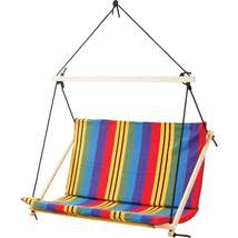 Club Fun™ Double-Wide Hanging Rope Chair - $119.95