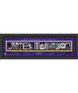 Personalized James Madison University Campus Letter Art Print - $43.95