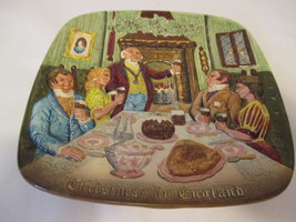 Vintage Christmas In England John Beswick LTD plate Royal Doulton - $19.95