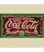 COCA COLA Tin Metal Sign - $15.99