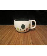 2007 Starbucks Coffee Mug Tea Cup White with Leaves Leaf  Fall Autumn 9 ... - $14.99