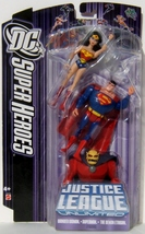 Mattel DC SuperHeroes Justice League Unlimited Wonder Woman Superman The... - $44.95