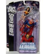 Mattel DC SuperHeroes Justice League Unlimited Wonder Woman Superman The... - $44.95