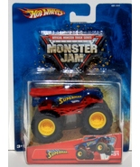 DC Hot Wheels Official Monster Truck Series Superman Monster Jam MOC 2... - $14.95
