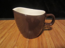 2005 Starbucks Small Chocolate Brown Color Pitcher Creamer At Home Colle... - $14.99