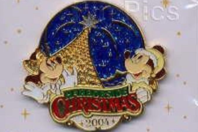 Primary image for Disney Christmas Tokyo Harborside Christmas Mickey & Minnie Opening Day pin