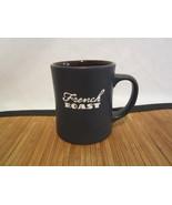 2011 Starbucks French Roast Coffee Mug Tea Cup Brown Black w/Etched Lett... - $24.99