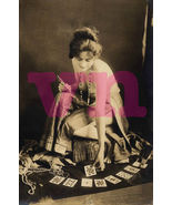 Vintage Image Early 1900s Photo Topless Fortune... - $4.95
