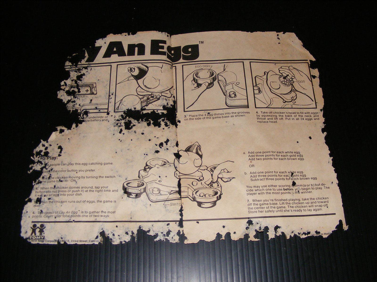 1978 Lay an Egg Game and 47 similar items