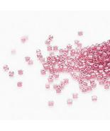 Miyuki Delicas 11/0 Shimmering Rose Pink 902, 50g bag of delica beads, c... - $14.50