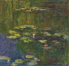 Water Lily Pond Painting by Claude Monet Art Reproduction - $34.99+