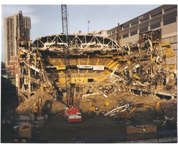 Boston Garden Demolished 1996 Celtics Bruins 11X14 Color Memorabilia Photo - $14.95