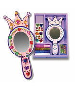 Decorate-Your-Own Wooden Princess Mirror by Mel... - $7.00
