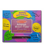 Birthday Autograph Memory Frame by Melissa and Doug - $8.00