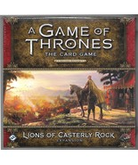 Game of Thrones Lions of Casterly Rock Expansion Boxed Set FFG BRAND NEW 2016 - $24.50