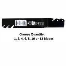 """Toothed Blades Fit 942-0611A 177-2144 742-0611 742-04125 742-4125 46"""" Deck - $20.34+"""