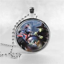 WIZARD Of OZ Necklace Pendant Art Jewelry, Wicked Witch, Flying Monkeys,... - $9.95