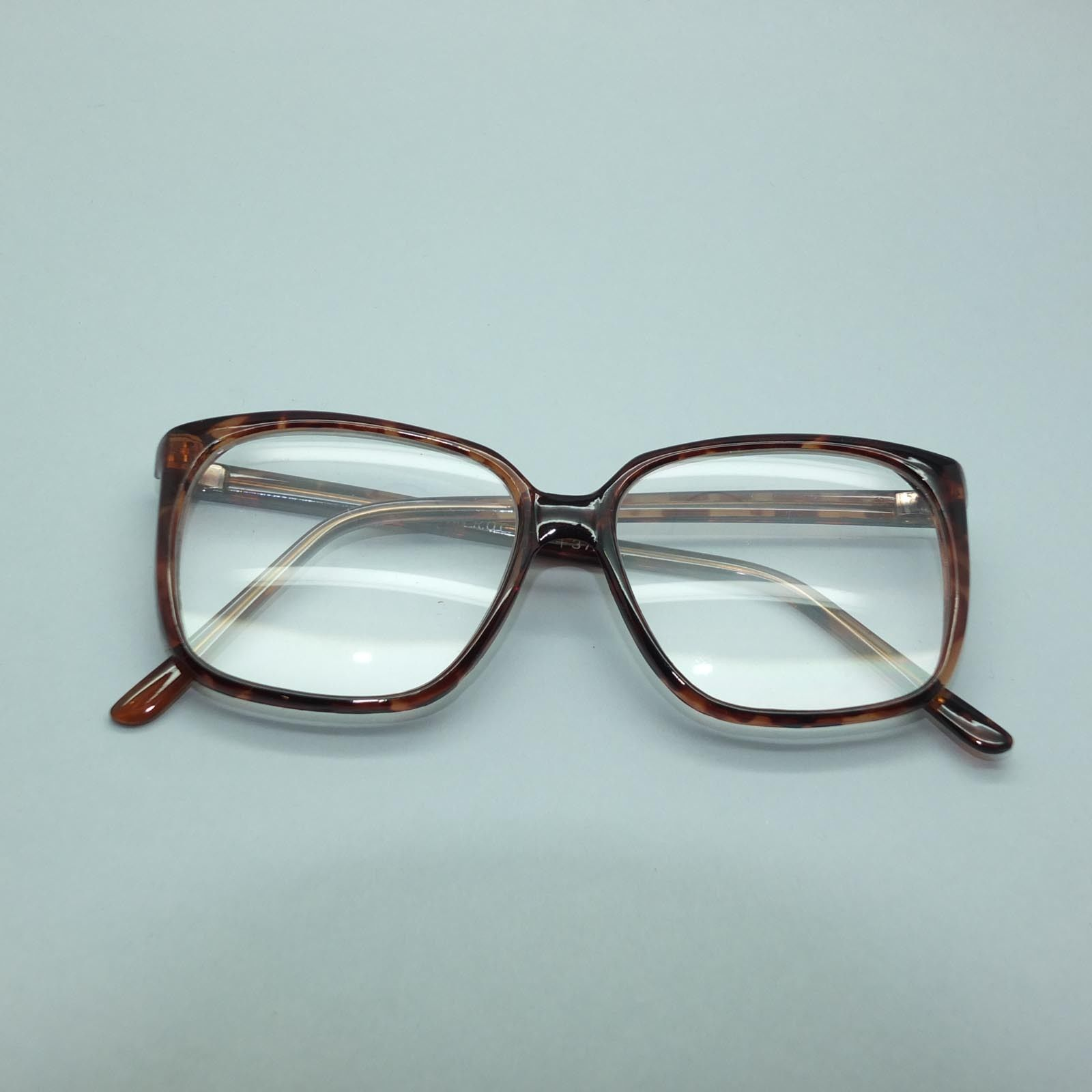 3eac36ecf5 Oversize Square Large Tortoise Frame Reading Glasses +3.75 Lens Strength