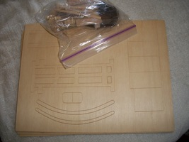 Wooden Stagecoach Craft Kit: Comes with Pre-cut Wood - $5.00