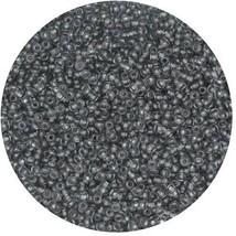 Czech Glass Seed Beads Size 13 Transparent Gray - $7.92