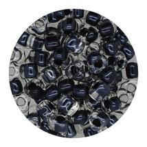 Glass Triangle Bead 5/0 Japan  Lined Black - $7.94