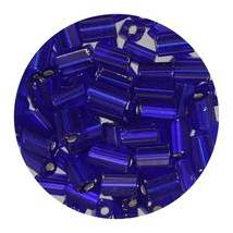 Flat Rectangle Bead Glass 3x5mm Czech Cobalight Rocaille - $7.94
