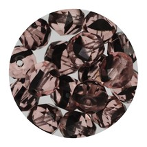 Faceted Fire Polish Beads Czech Glass 8mm Black Pink Ombre - $7.94