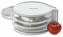 Food Processor Disc Holder Container Storage Stackable High Impact NEW - $38.95