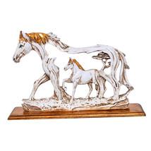 Horse in Horse Resin Figurine Wind Wild Horse Statue collectibles figuri... - $52.95