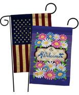 Welcome Daisies - Impressions Decorative USA Vintage - Applique Garden F... - $30.97