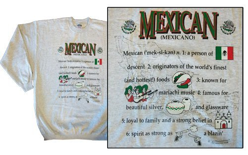 Mexico national definition sweatshirt 10253
