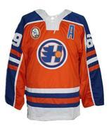 Custom Name # Halifax Highlanders Retro Hockey Jersey Orange Glatt #69 A... - $54.99+